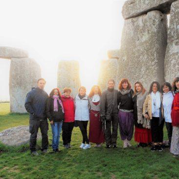 Fin de viaje interior en Glastonbury-Avalon: hermosas mujeres 2016