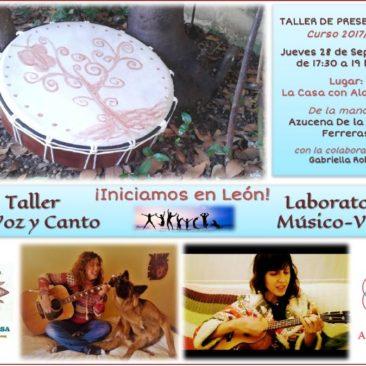 Presentación: Actividades de Canto y Laboratorio Músico-Vocal